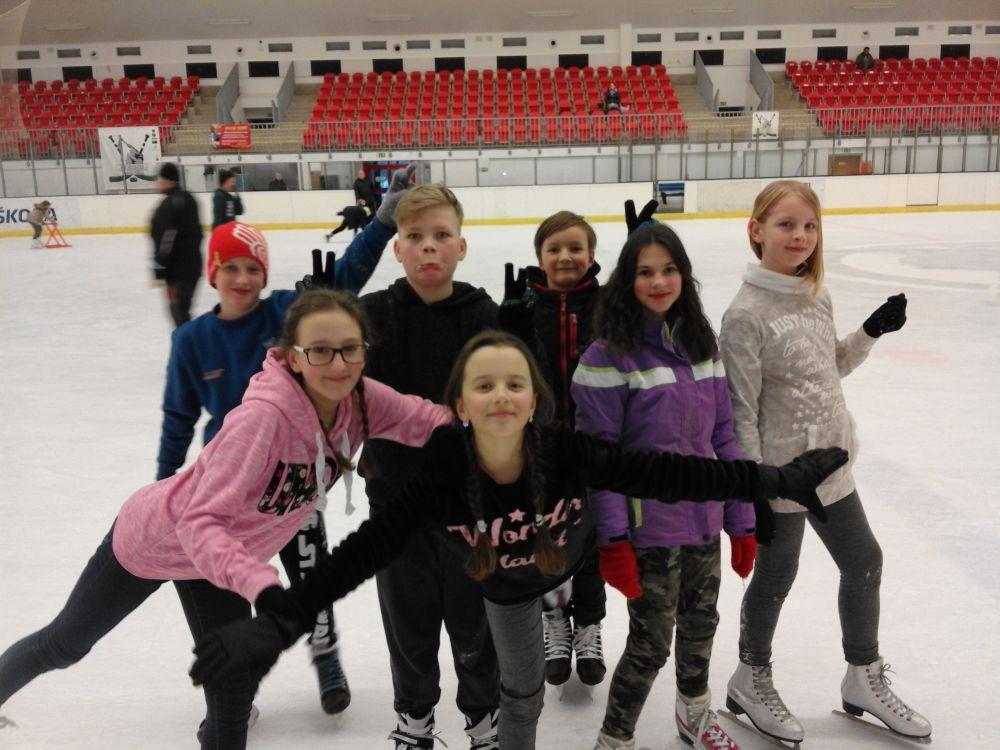 Máme rádi zimní sporty…