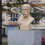 Nová busta T. G. Masaryka v roce 2012