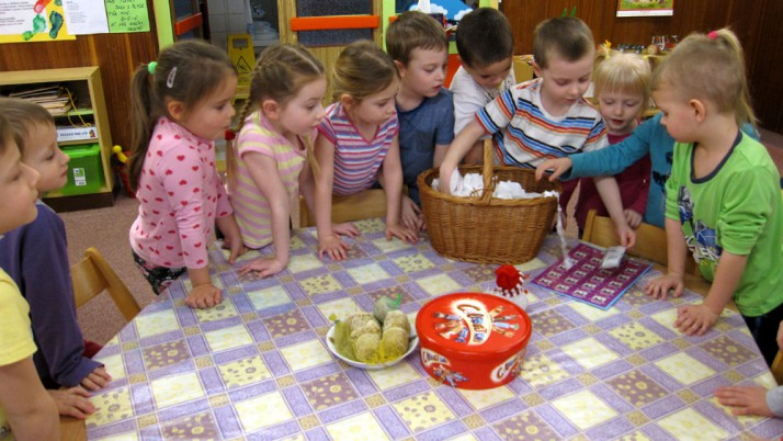 Oslavy narozenin na třídě Sluníčka