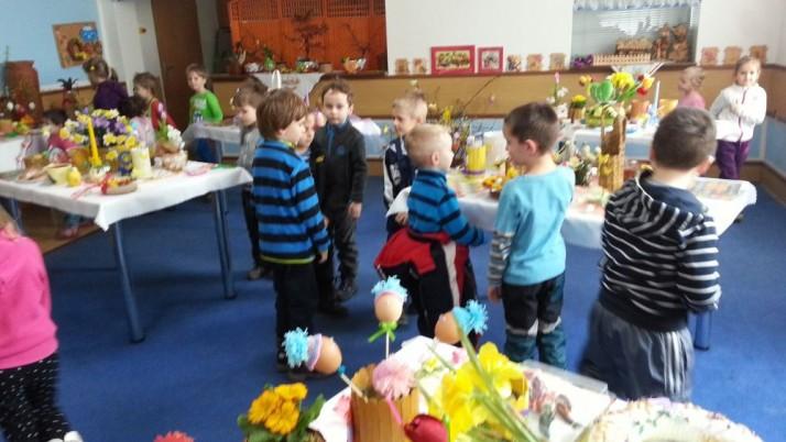 Velikonoční výstava v Domově seniorů v Hnojníku.