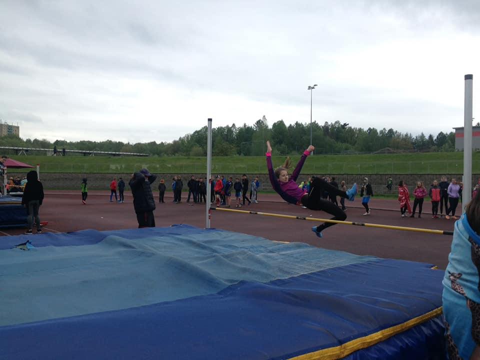 Na naší škole máme atletické talenty