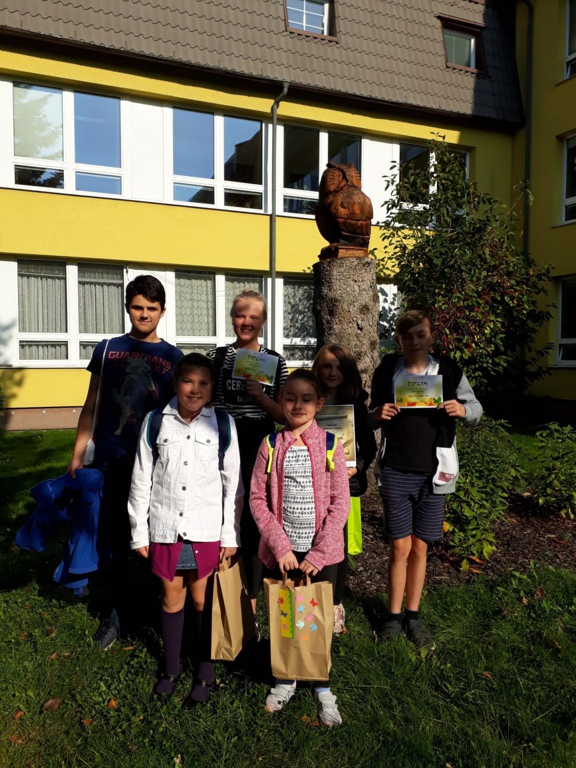 První místo v literární soutěži v Čeladné