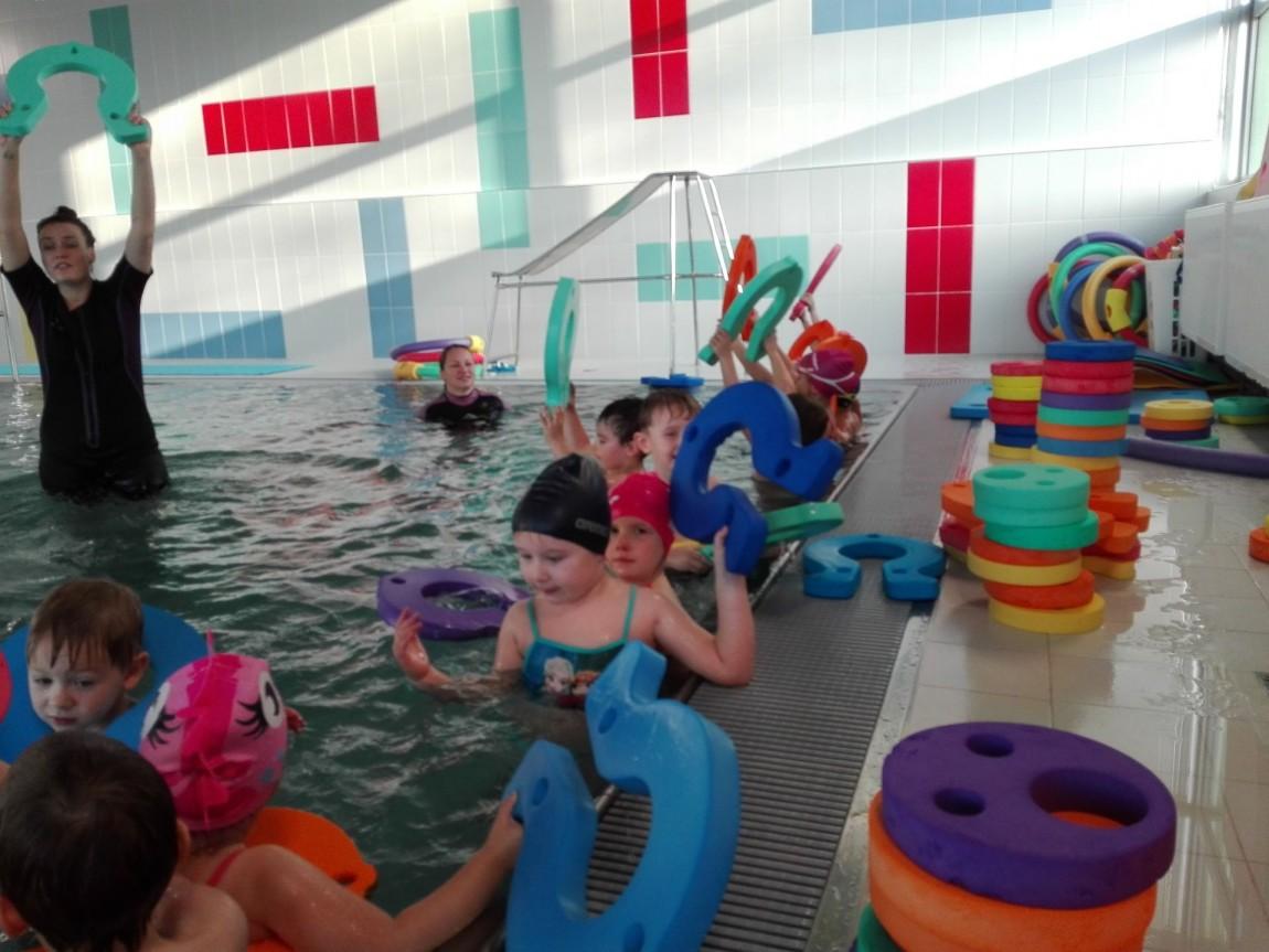 Předplavecký výcvik předškoláčků
