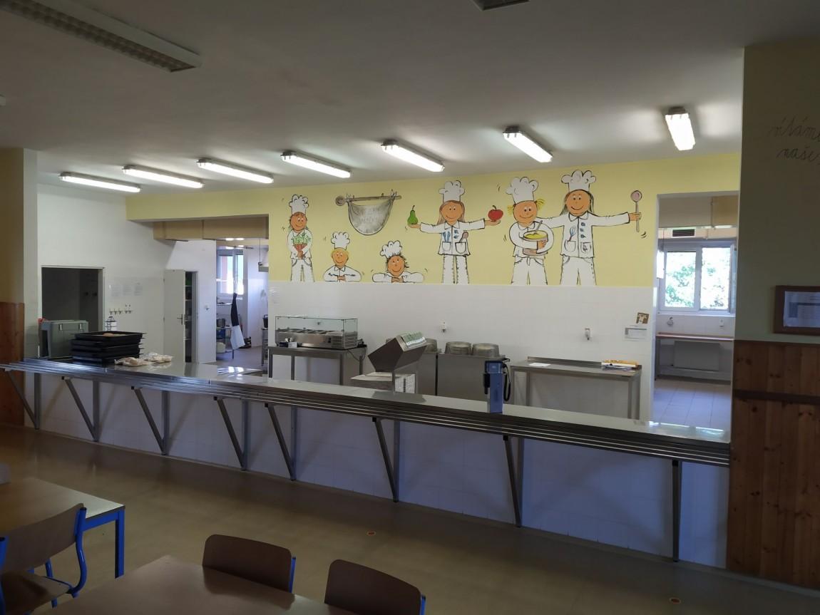 Prázdninový provoz školní jídelny pro cizí strávníky